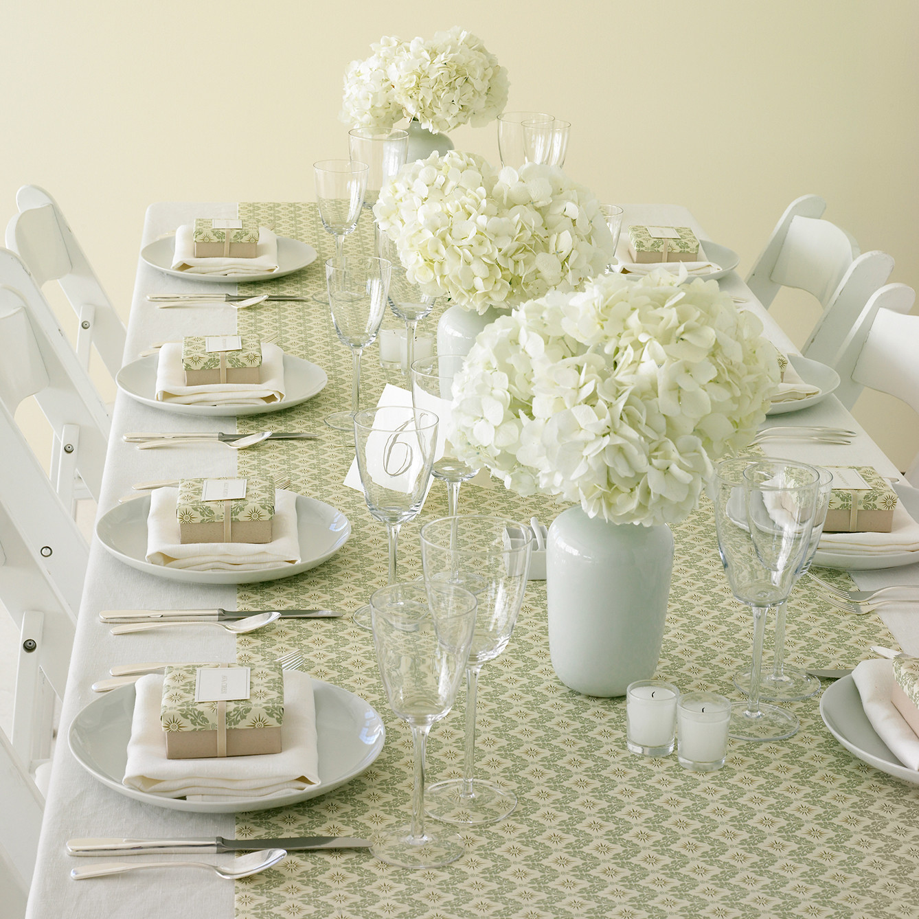 Hydrangea Wedding Centerpieces | Martha Stewart Weddings