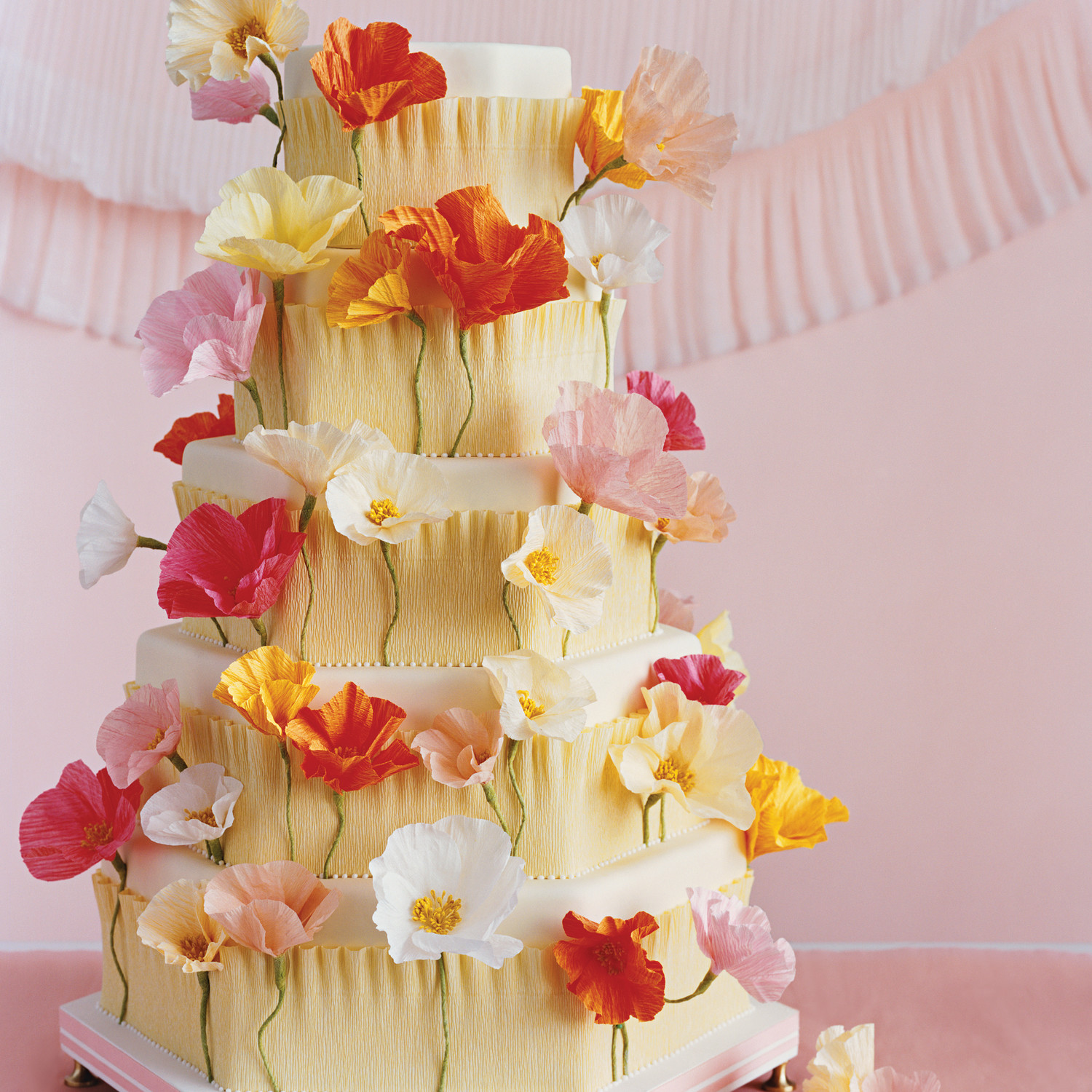 Crepe paper flowers martha stewart weddings dhlflorist Images