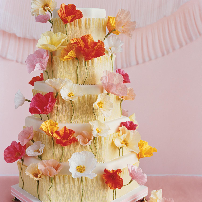 Crepe Paper Flowers Martha Stewart Weddings