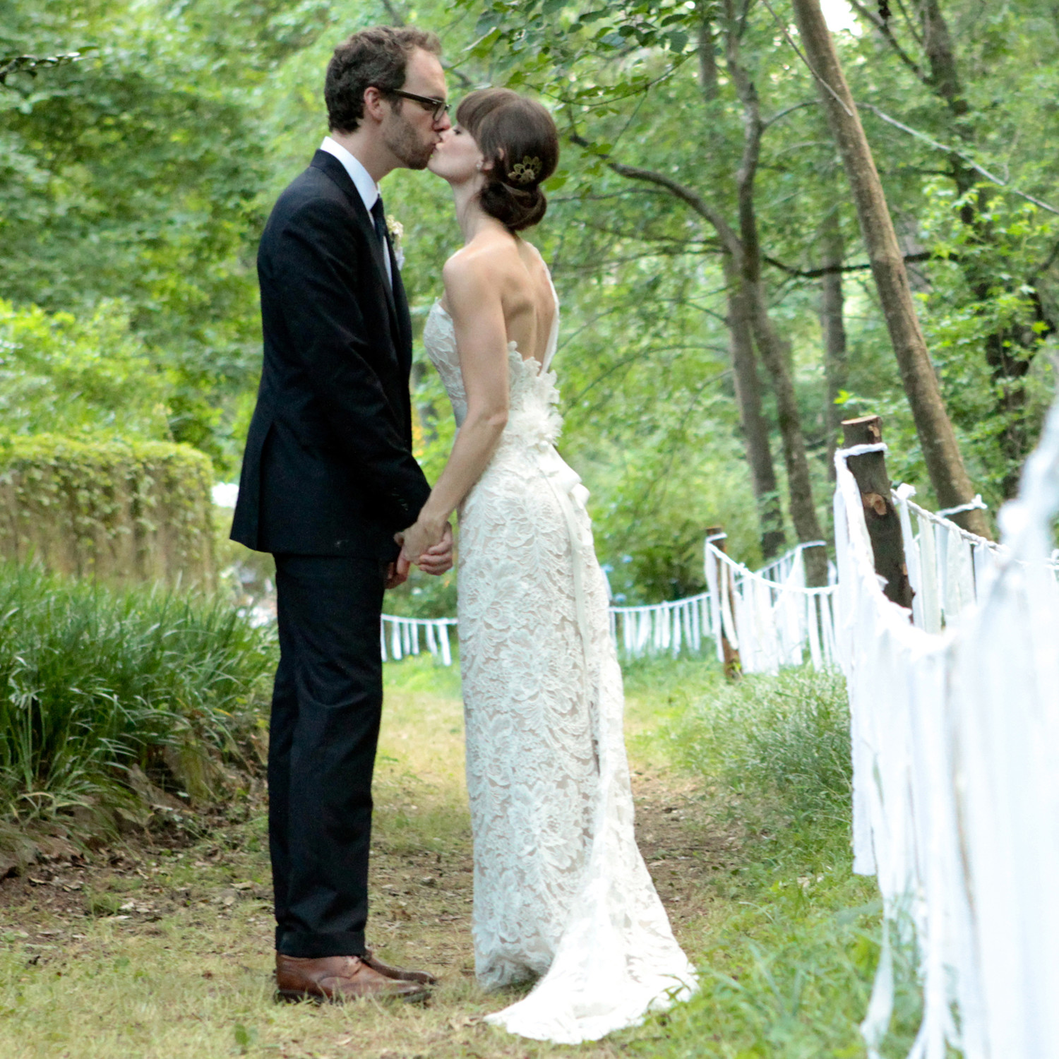 an intimate backyard wedding in oklahoma martha stewart weddings