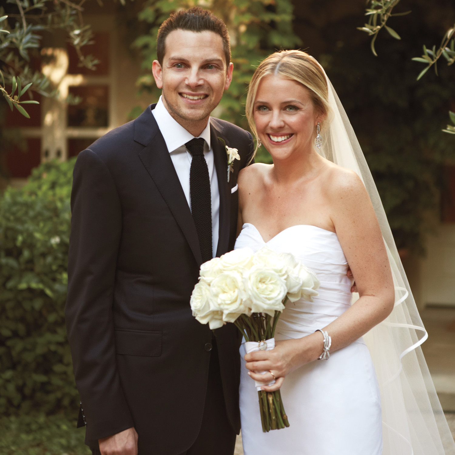 Celebrity Wedding Etiquette: A Formal Wedding At Home In California