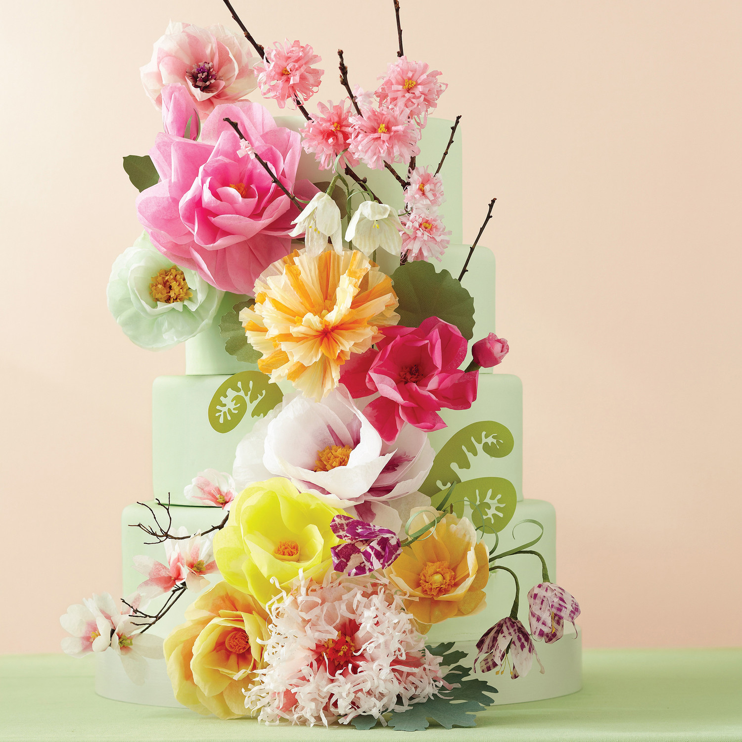 11 diy wedding cake ideas that will transform your tiers martha 11 diy wedding cake ideas that will transform your tiers martha stewart weddings junglespirit Gallery