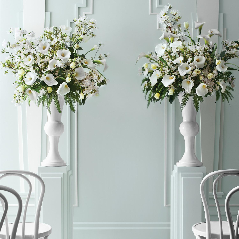 Flower Pedestals for Weddings