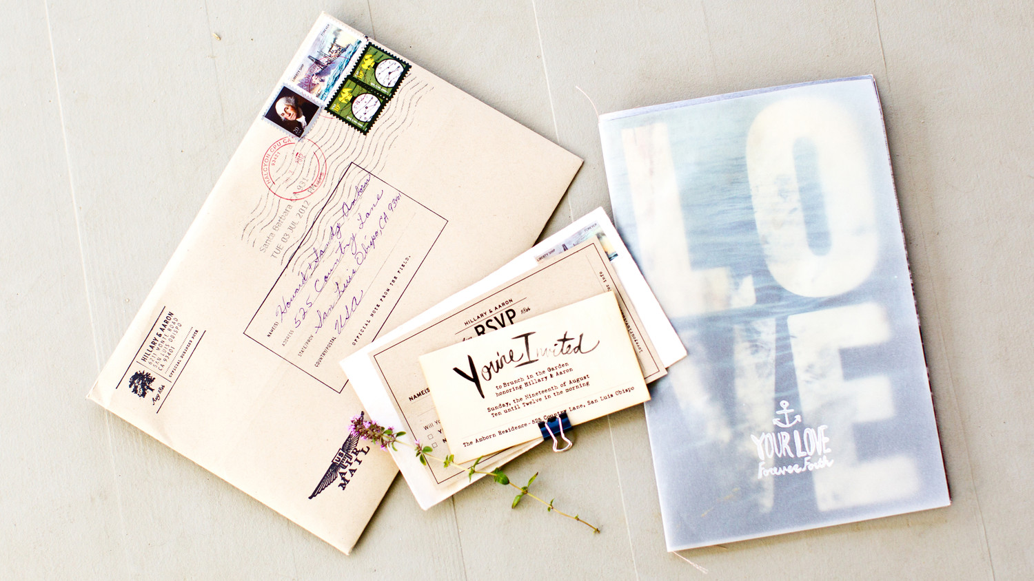 A Guide to Hand-Canceling Your Wedding Invitations | Martha Stewart ...