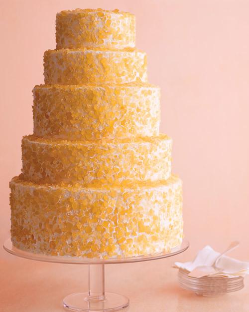 Crushed-Candy Wedding Cake Recipe
