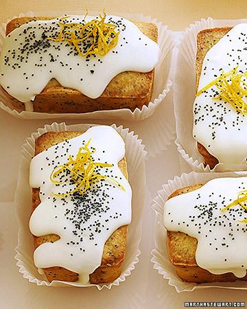 Martha Stewart Mini Lemon Pound Cakes