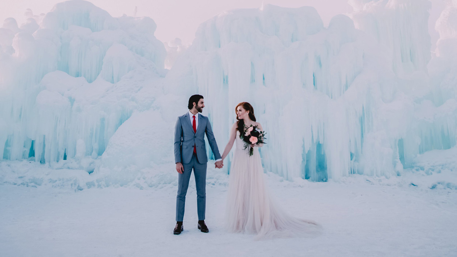 Here's Why the Sun Setting Early Isn't Necessarily a Bad Thing for Your Winter Wedding