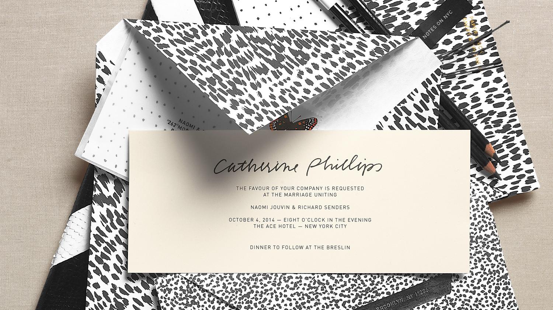 Martha Stewart Wedding Invitation: Wedding Invitations Inspired By Our Favorite Fashion Trends