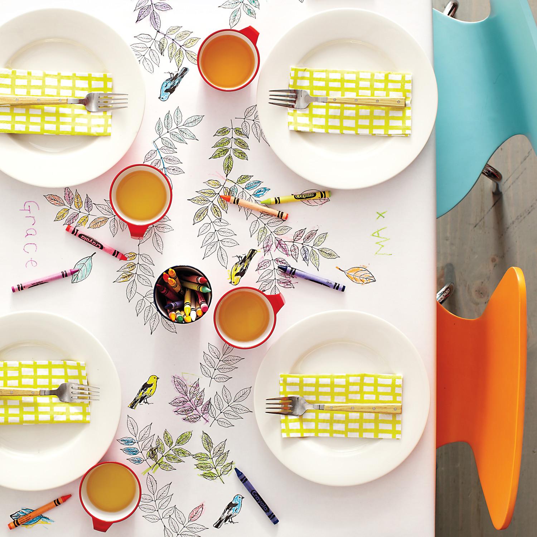 7 Cute Ideas for the Kids\' Table | Martha Stewart Weddings
