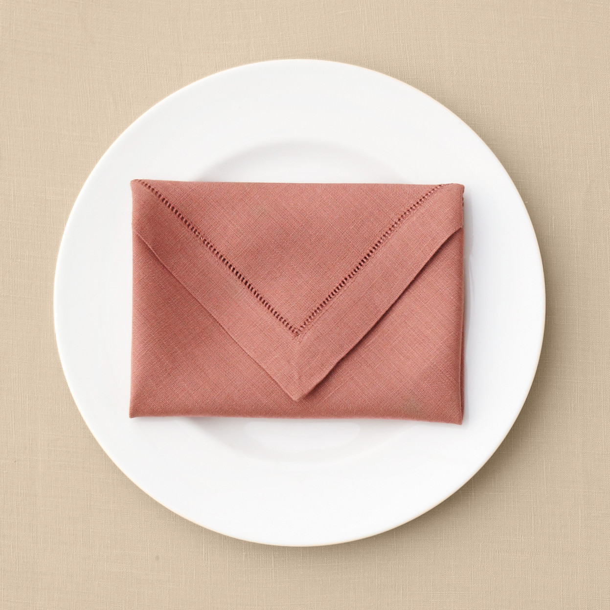 Envelope Napkin Fold | Martha Stewart Weddings