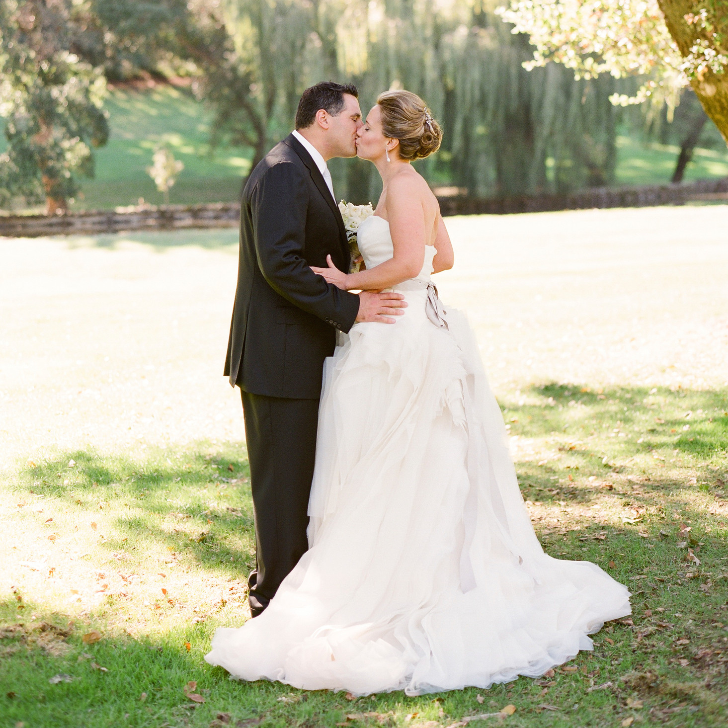 A Formal Outdoor Destination Wedding in Napa, California | Martha ...