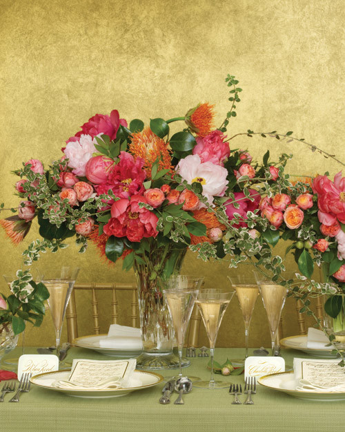 Types Of Flower Arrangement Shapes: The New Shapes Of Wedding Flowers