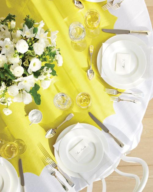 Tabletop Wedding Decor Clip Art And Templates Martha