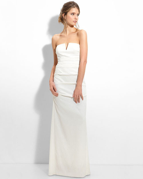 Nicole miller spring 2012 collection martha stewart for Nicole miller wedding dresses nordstrom