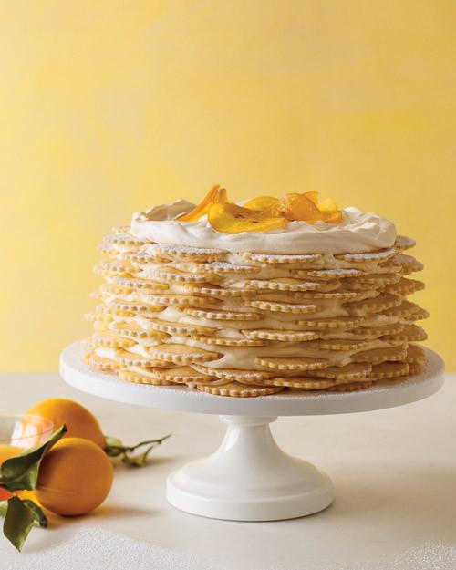 Martha Stewart Lemon Icebox Cake