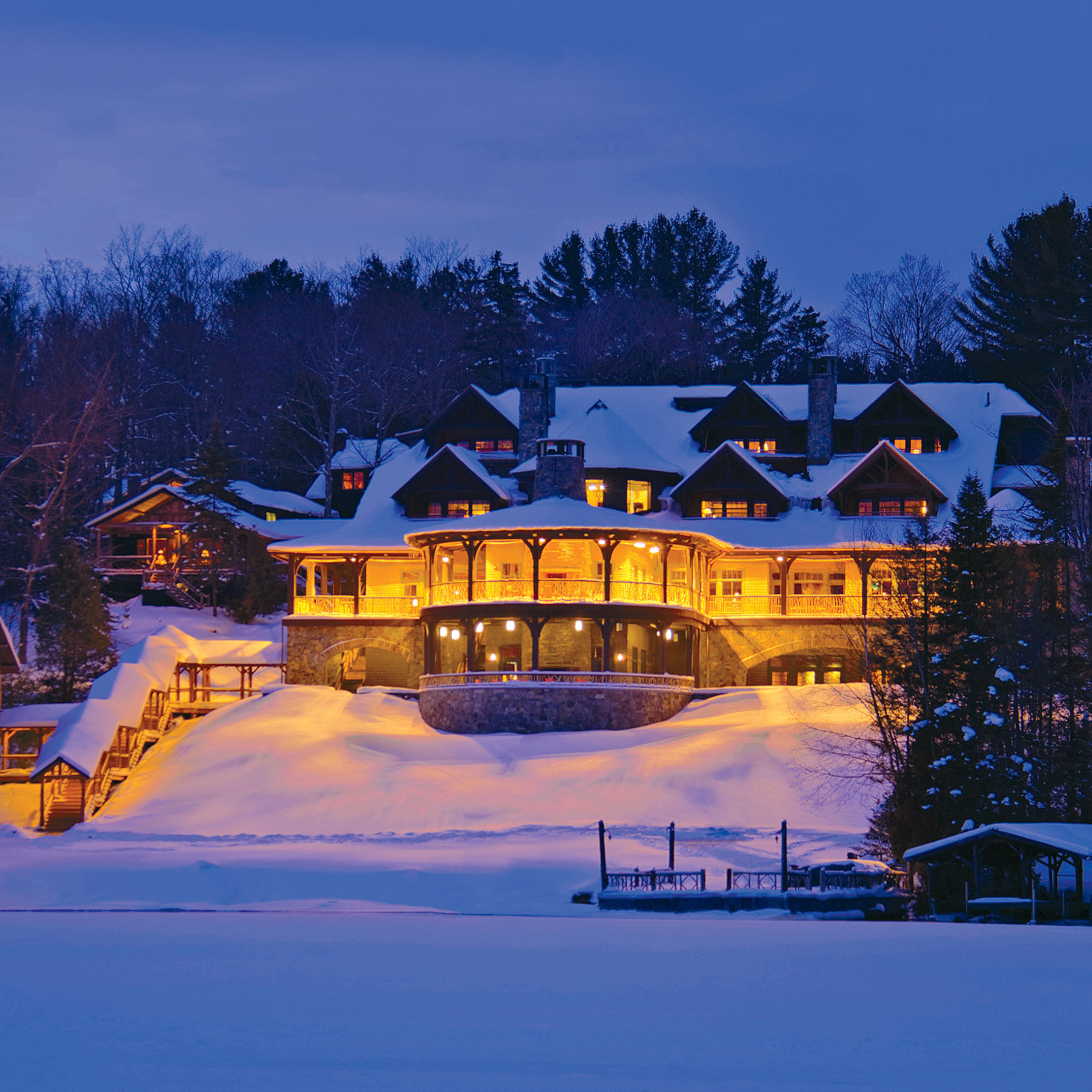 Consider Tying The Knot At The Picturesque Lake Placid