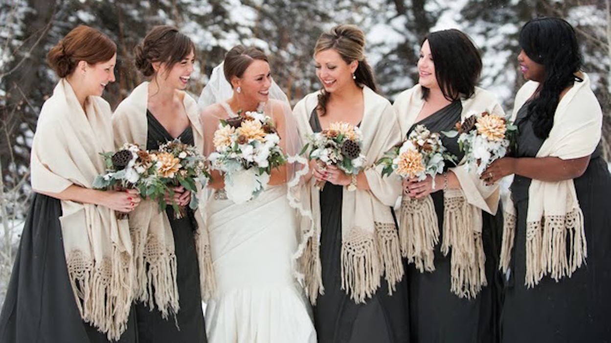 7 Simple Ways To Make Your Winter Wedding Cozy Martha Weddings