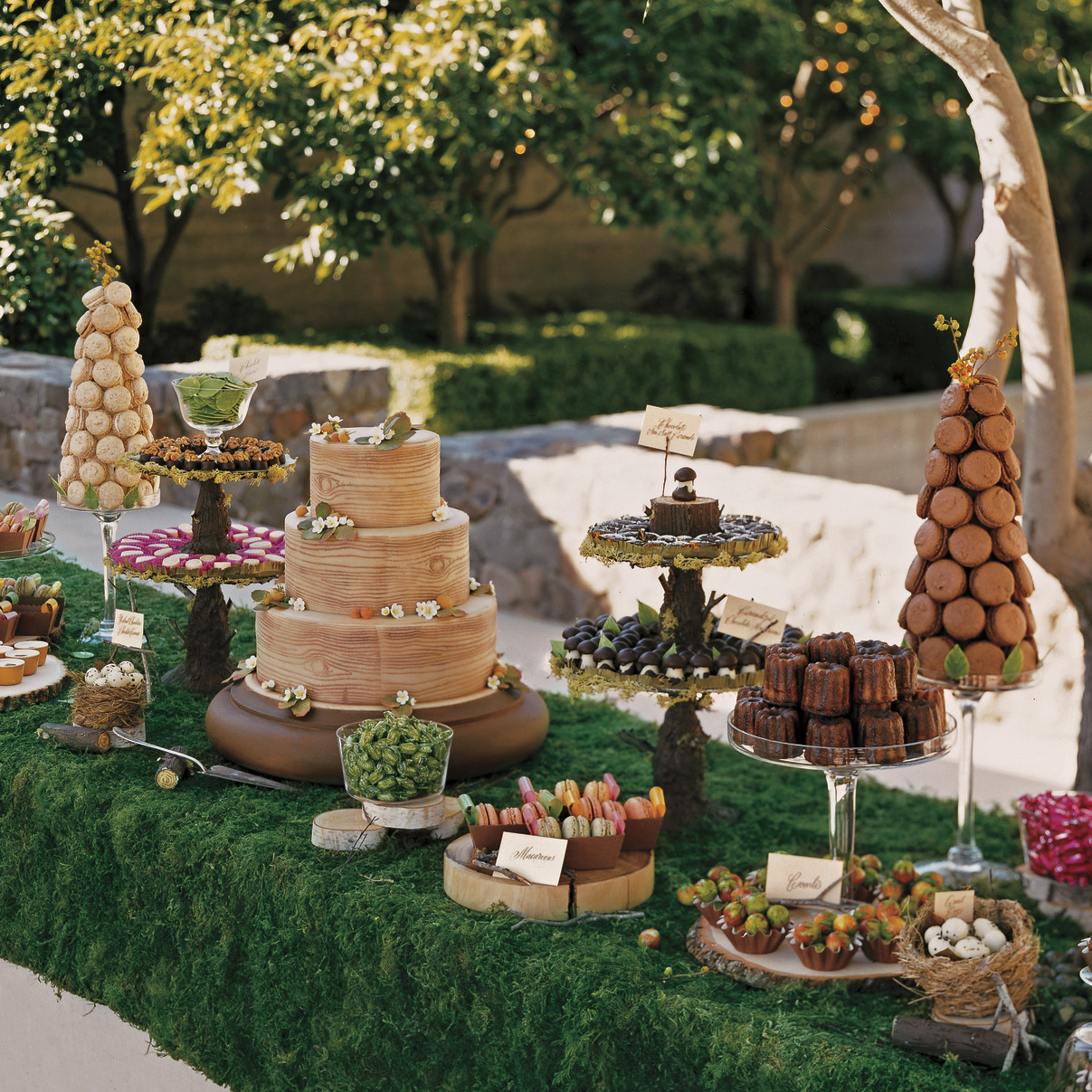 39 amazing dessert tables martha stewart weddings junglespirit Gallery