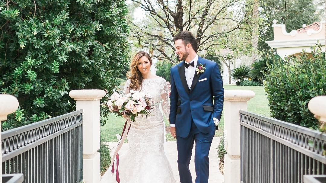 Cubs Player Kris Bryant Married Jessica Delp Martha
