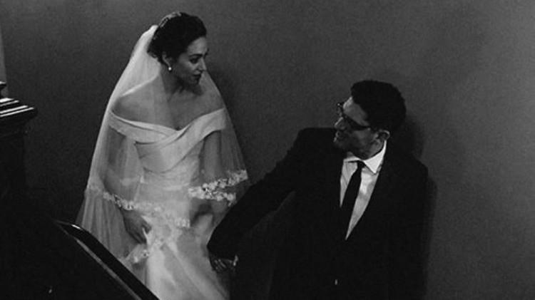 Emmy Rossum Wedding.Emmy Rossum Just Shared Four New Photos From Her Wedding Day
