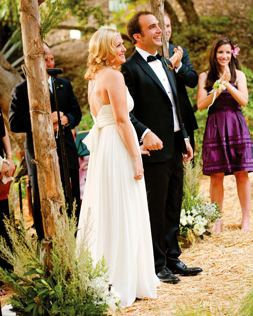 A Casual Outdoor Rustic Wedding In California