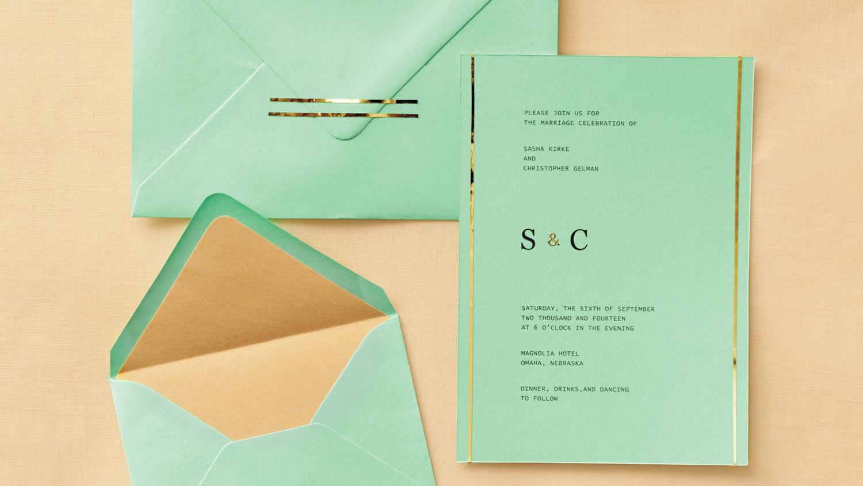 Martha Stewart Wedding Invitation: Easy Ways To Upgrade Your Wedding Invitations