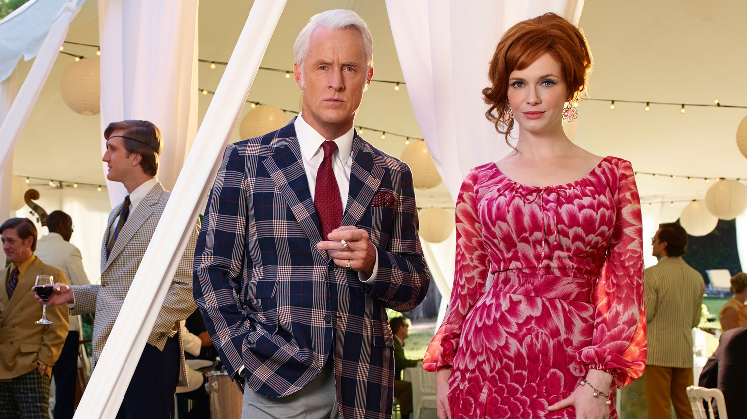 the great moment of mad men party decorations. Roger Sterling And Joan Holloway\u0027s Mad Men-Inspired Wedding | Martha Stewart Weddings The Great Moment Of Men Party Decorations