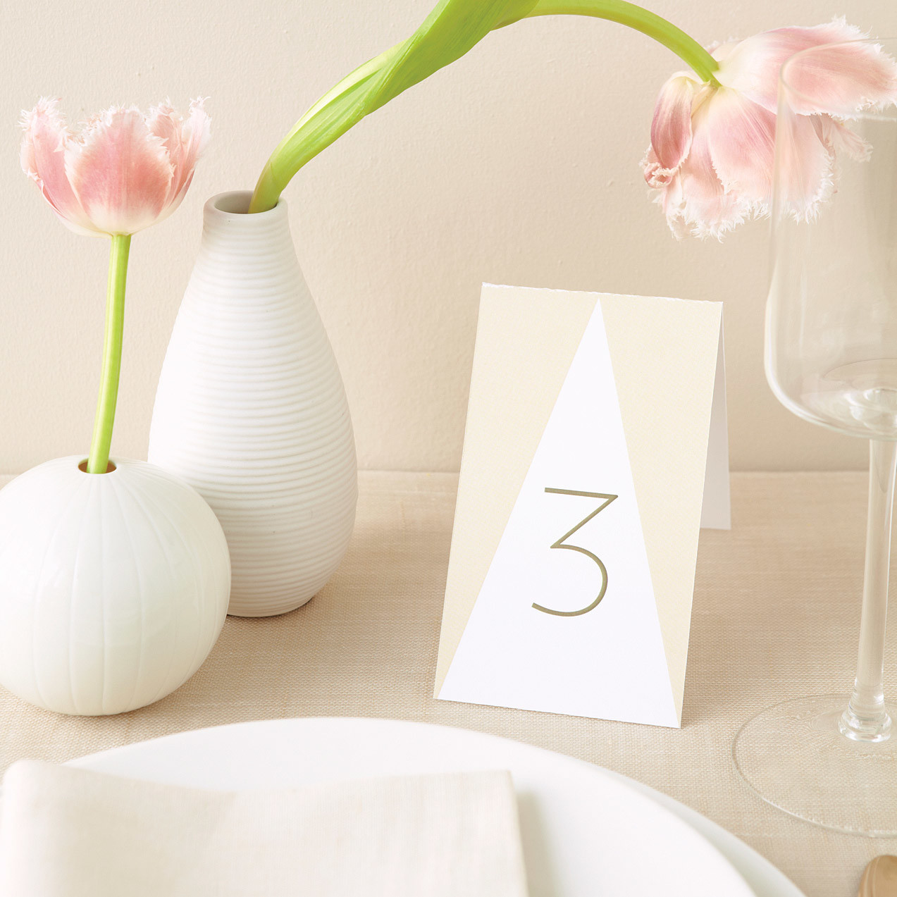 Diy table numbers to count on for a special touch martha for Table numbers