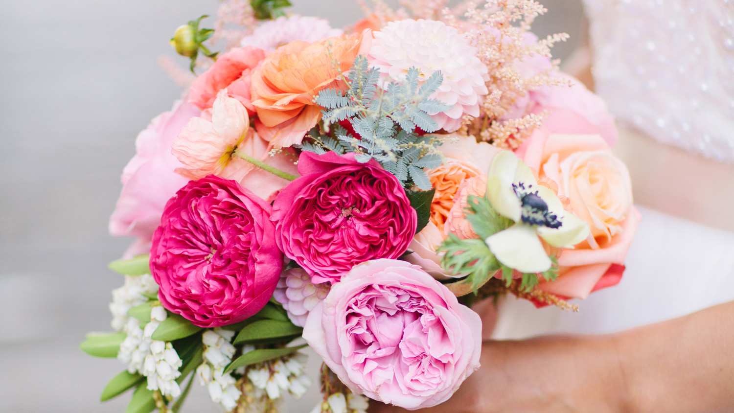 11 Nail Polish Colors Inspired by Our Favorite Wedding Flowers ...