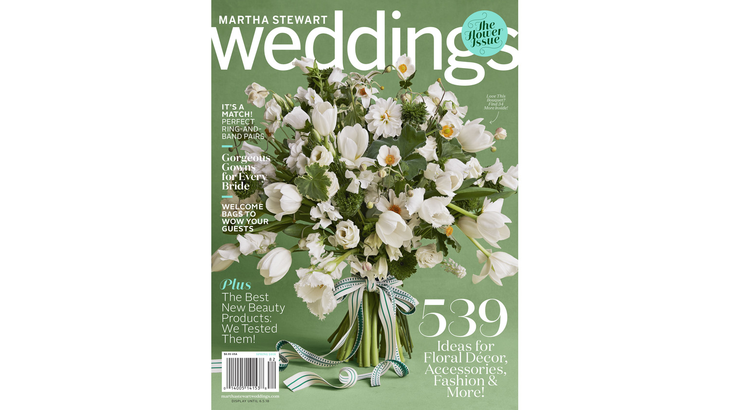 Get A First Look At Our Spring 2018 Issue Martha Stewart Weddings
