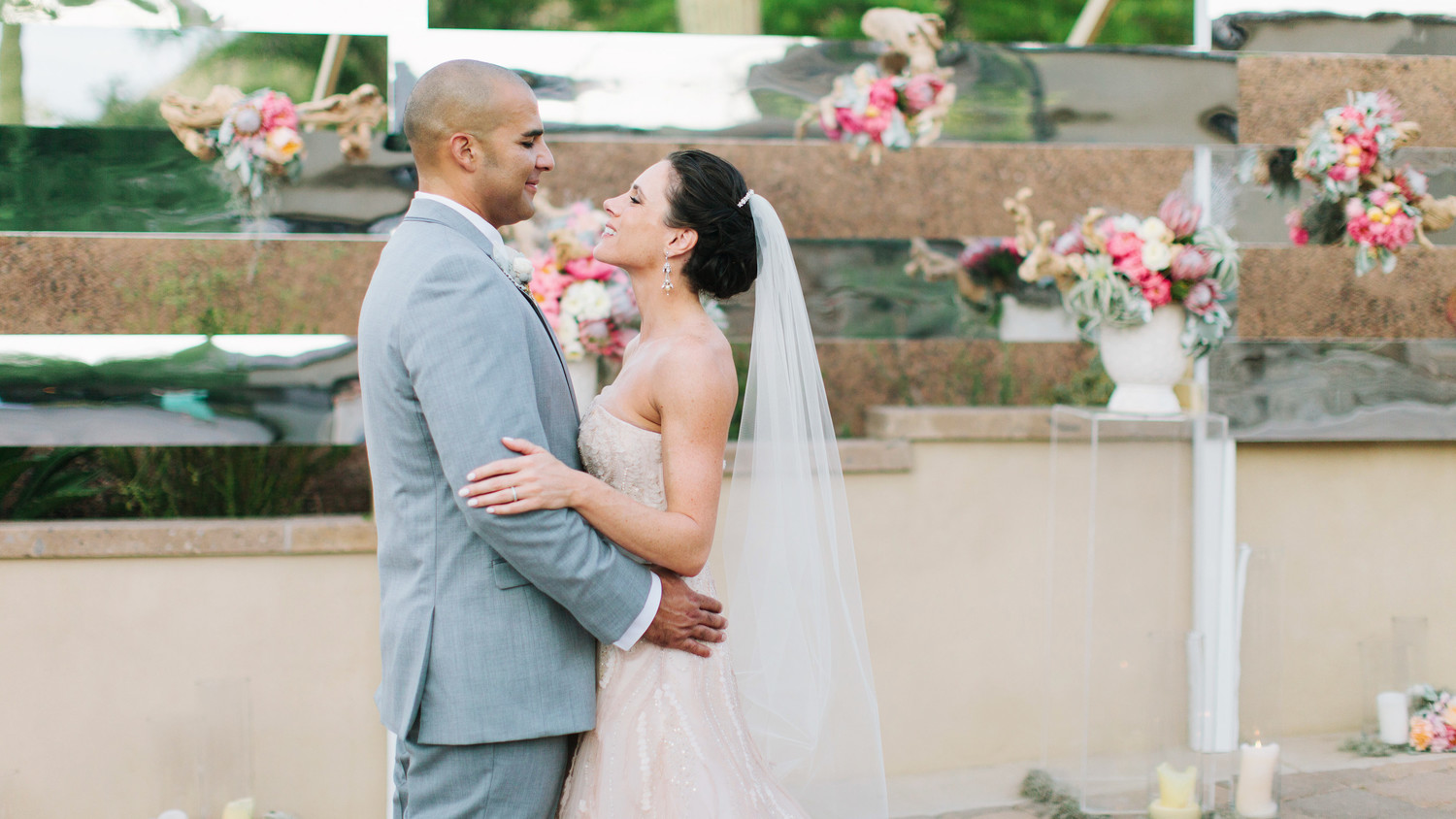 A Seafoam And Blush Ocean-Inspired Wedding In Arizona