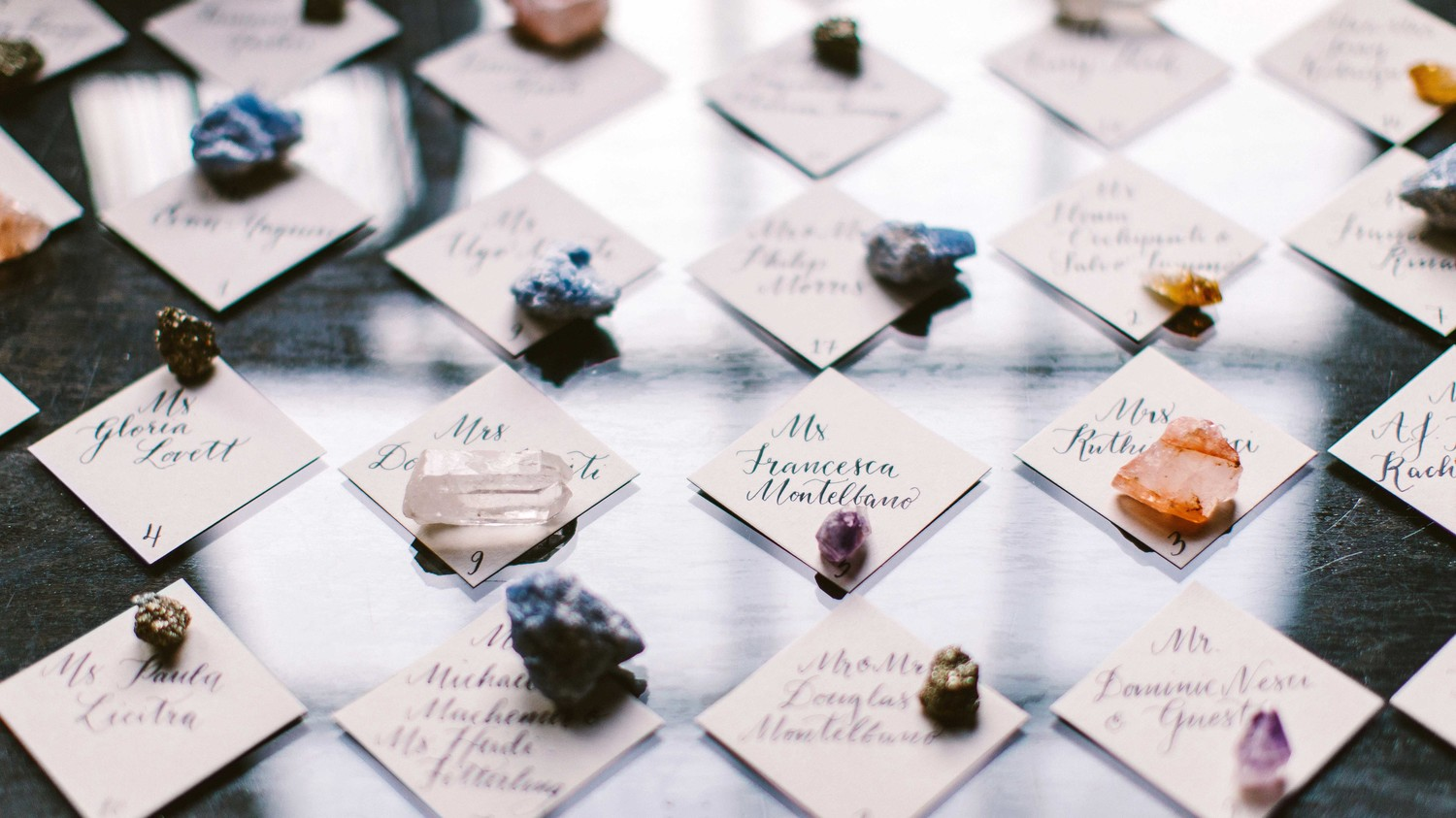 A Millennial\'s Guide to Using Crystals on Your Wedding Day | Martha ...