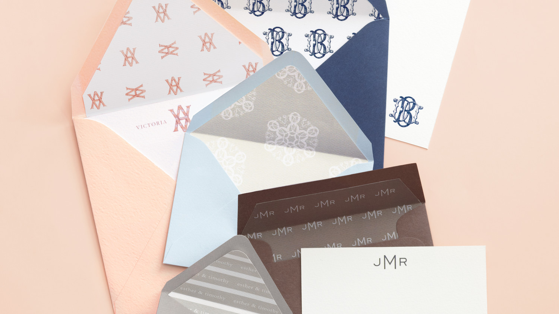 Martha Stewart Wedding Invitation: Wedding Invitation Envelope Liner How-To