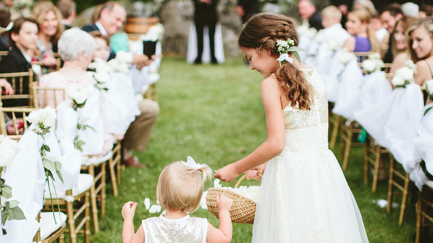 688634c6188 Read This Before Asking Your Flower Girl to Toss Petals Down the Aisle