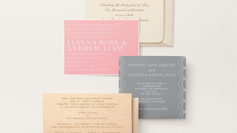 9 Host Line Scenarios to Make Wording Your Wedding Invitations Super ...