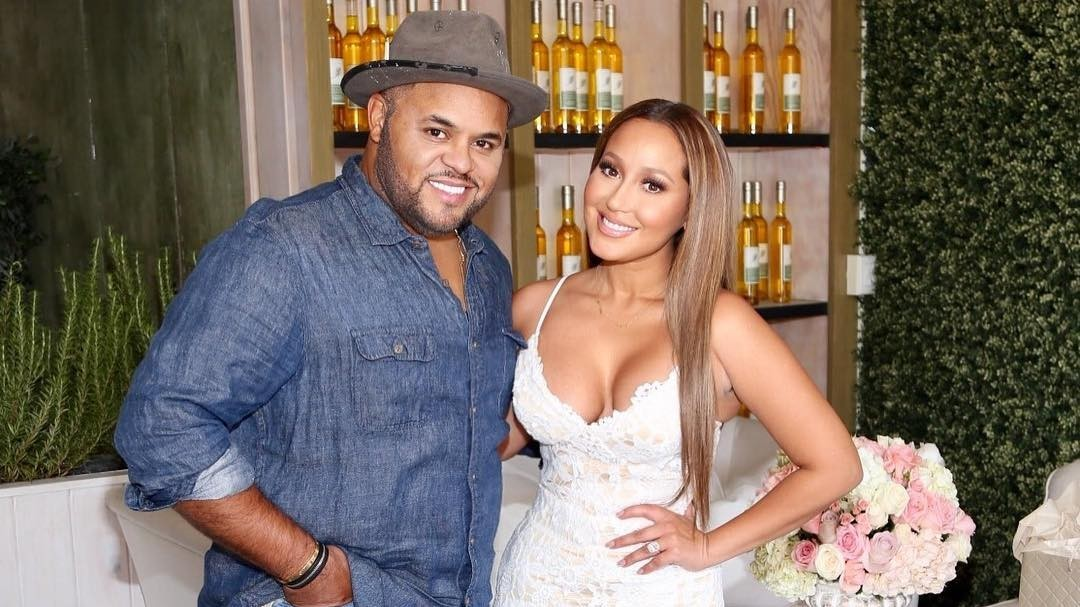 13a895e3bc Watch  Adrienne Bailon and Israel Houghton s First Wedding Video Clips!