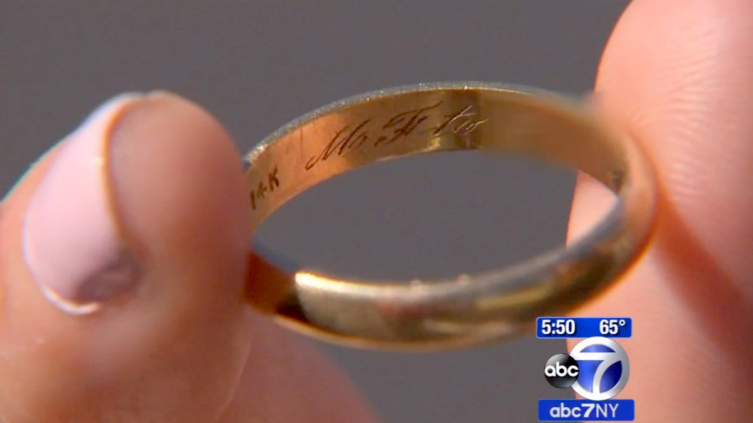 Missing Wedding Ring Mystery Help Find The Owner Who S About To Celebrate Their 60th Anniversary Martha Weddings