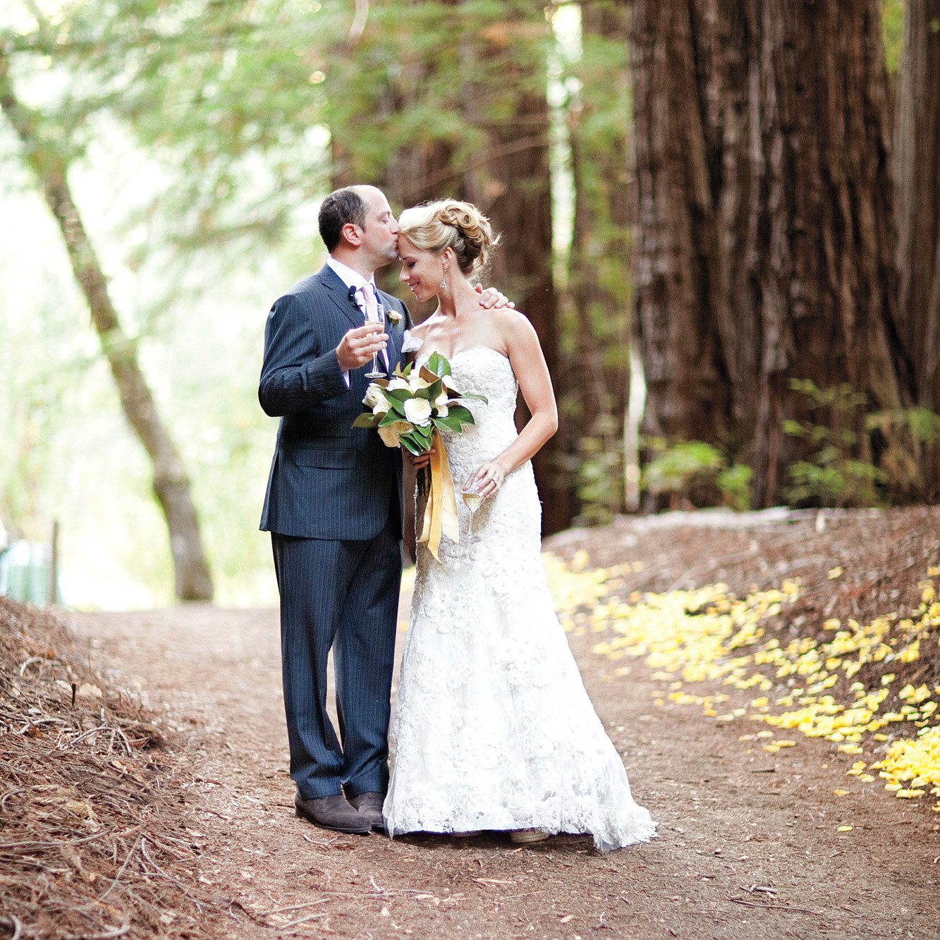 A Formal Rustic Wedding on a Ranch in California Martha Stewart