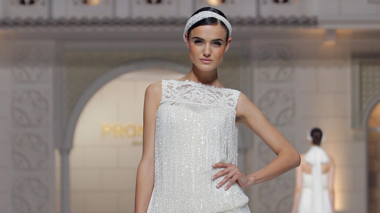 13 Wedding Dresses With Fringe Benefits | Martha Stewart Weddings