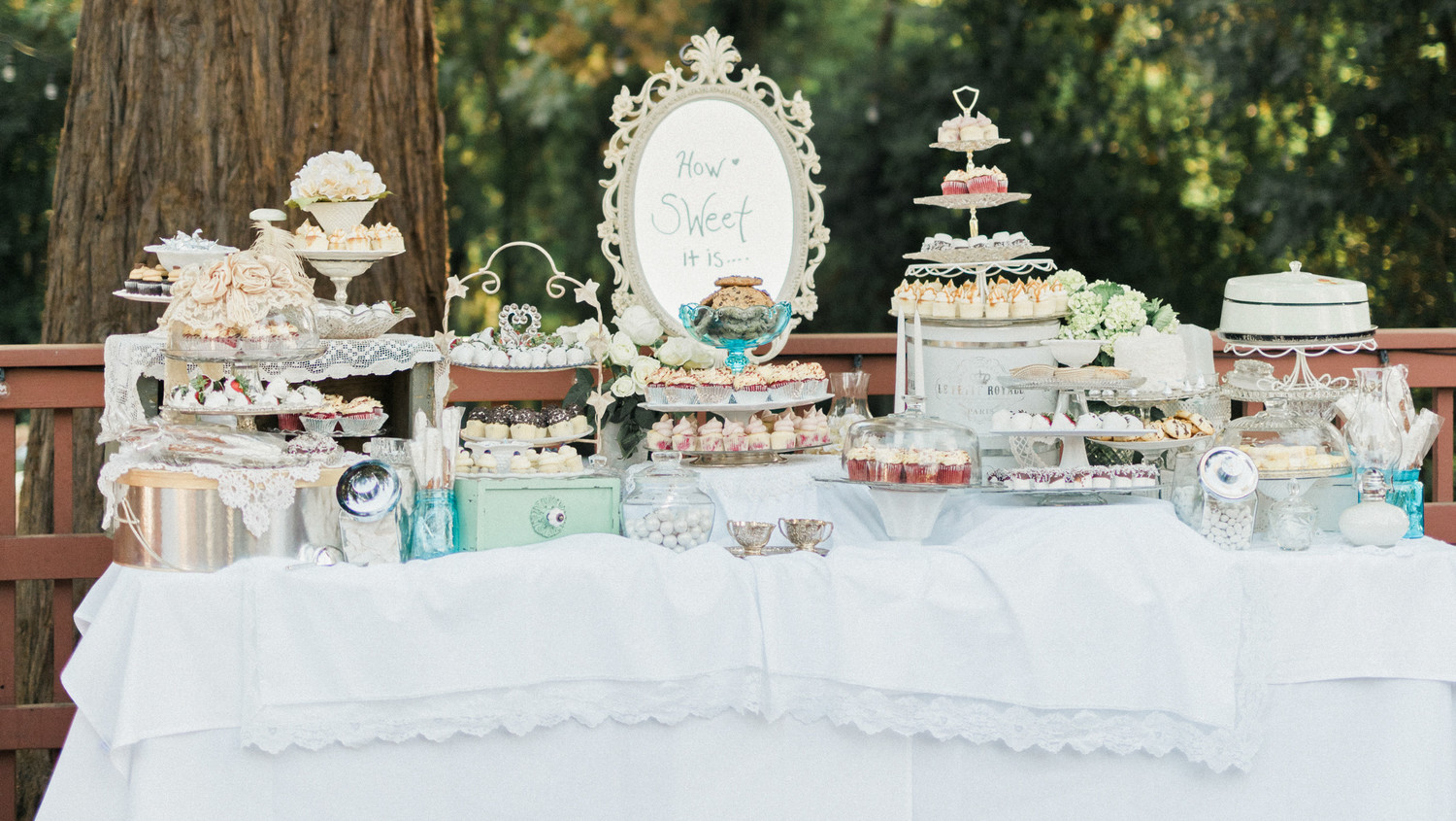 Wedding Cake Table.How To Create The Ultimate Wedding Dessert Table Martha Stewart