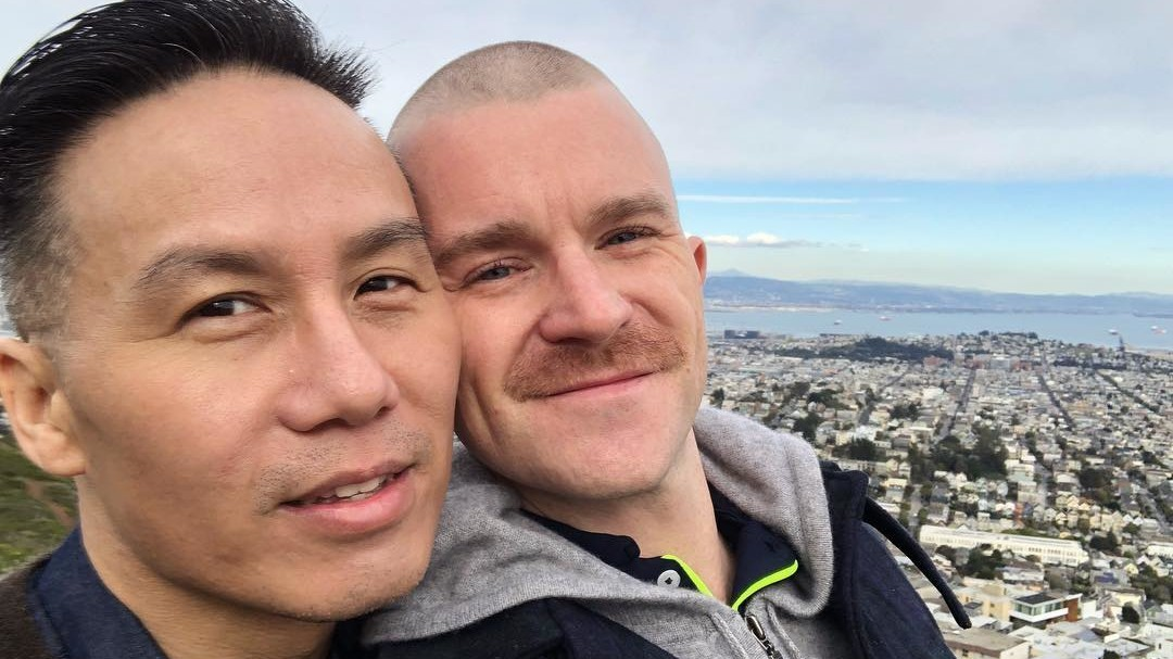 Quot Law Amp Order Svu Quot Star Bd Wong Marries Richert Schnorr In