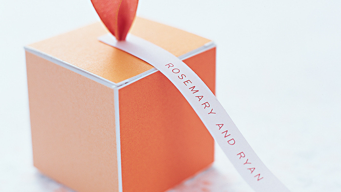 Martha Stewart Wedding Gift Ideas: 40 Gift-Box Ideas To Hold Your Wedding Favors In Style