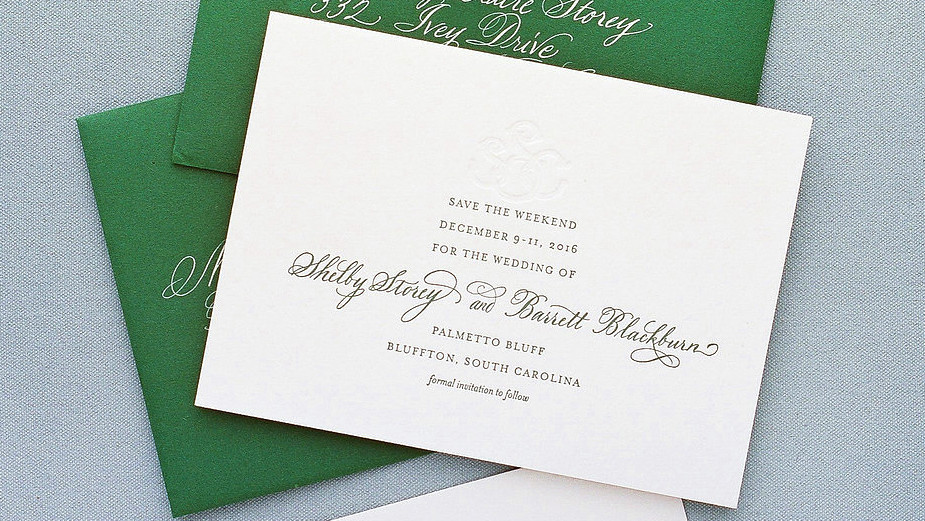 25 classic save the date ideas martha stewart weddings