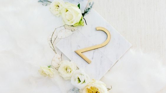 The Prettiest Wedding Table Number Ideas from Real Weddings