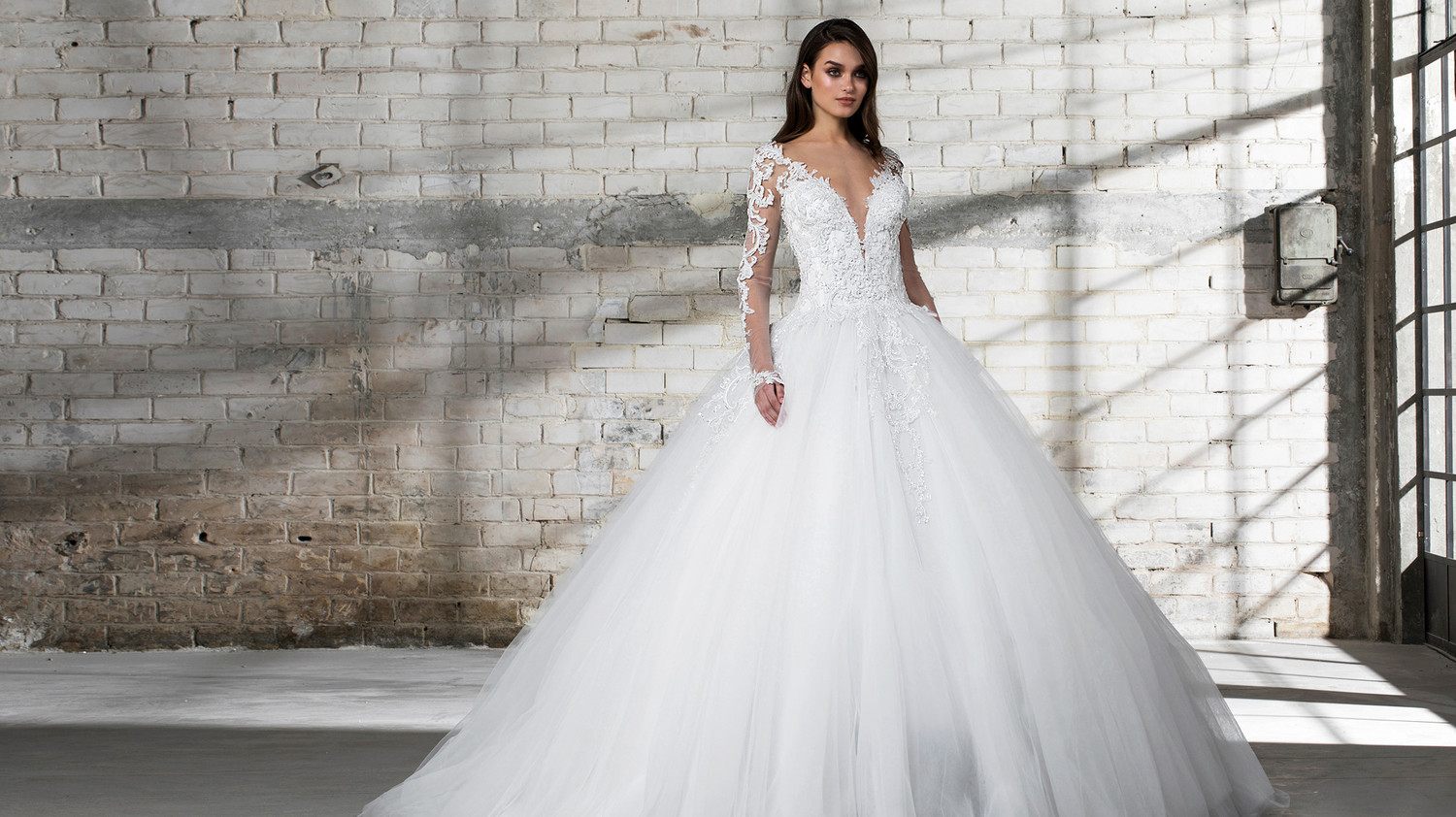 7045ff0b4ae7f Pnina Tornai for Kleinfeld Spring 2019 Wedding Dress Collection | Martha  Stewart Weddings