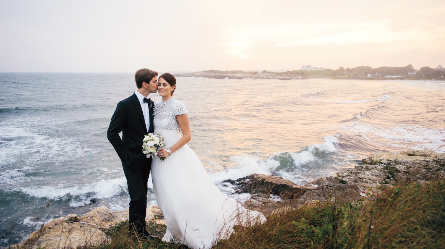 couple by the ocean