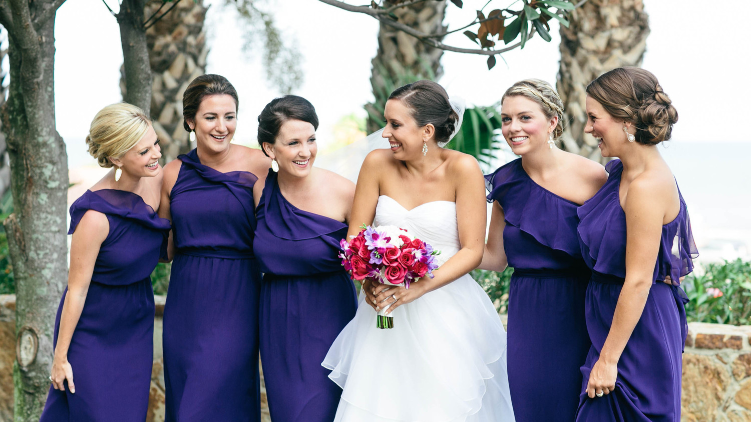The best bridesmaids dress colors for fall weddings martha the best bridesmaids dress colors for fall weddings martha stewart weddings ombrellifo Gallery