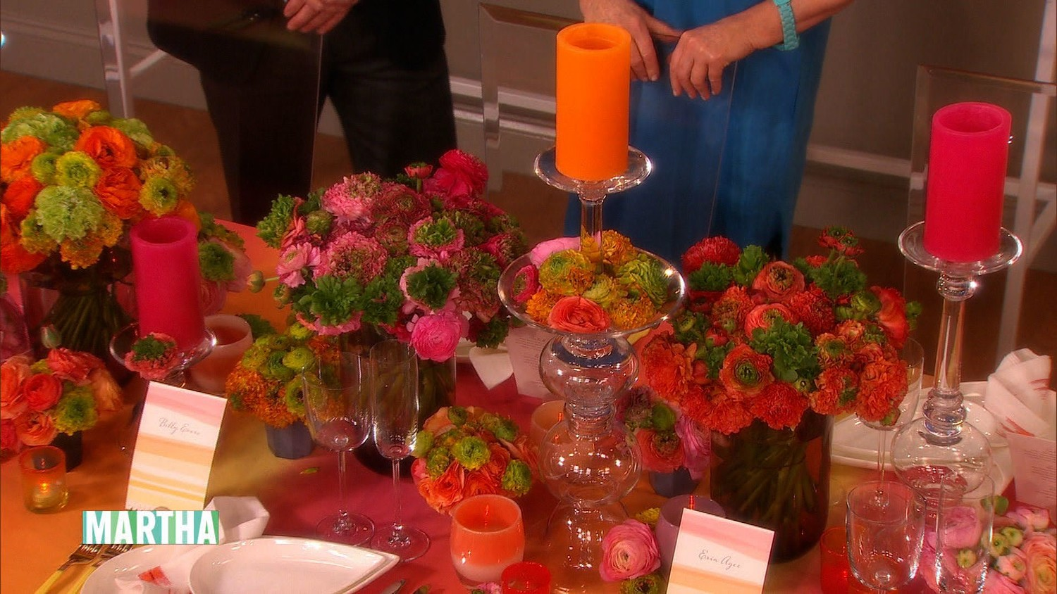 Video: Colorful Wedding-Reception Decorating Ideas | Martha Stewart ...