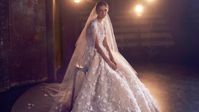 Elie Saab Fall 2018 Wedding Dress Collection