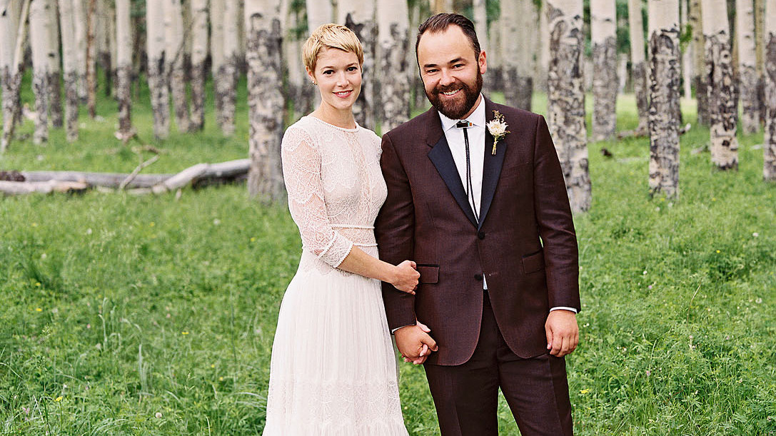 21 Grooms Who Wore Colorful Wedding Suits Martha Stewart Weddings